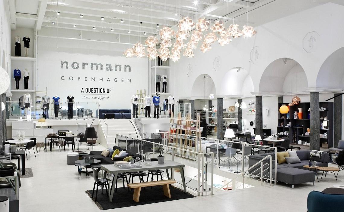 Chłodny Normann Copenhagen - meble, lampy i dodatki o skandynawskim duchu JL53